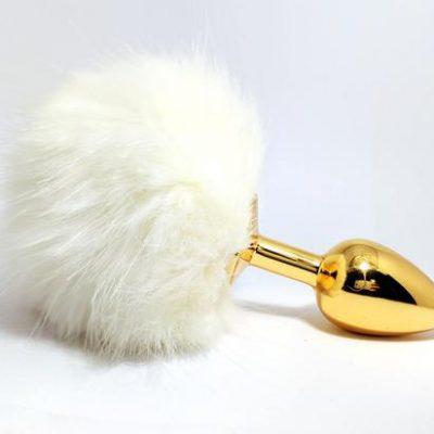 plug con cola de conejo